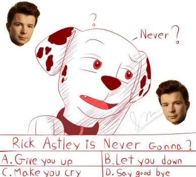 Never Gonna... by AO-2-NICK