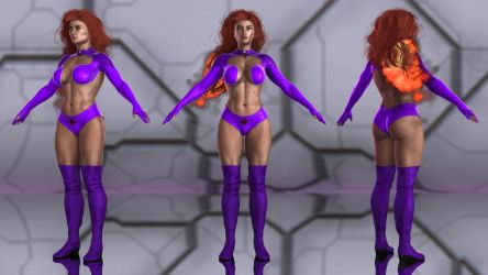 Starfire for G3F by geminii23