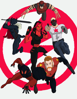 Thunderbolts Go! by cspencey