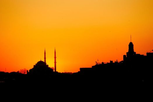Istanbul City by iMarceldd