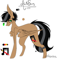 [G] ArtSong - Reference sheet by OhFlaming-Rainbow
