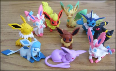 The Eevee Family by Fishlover