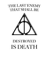 Deathly Hallows Tattoo Design by GodofPH