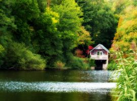 Boathouse by pinkal09