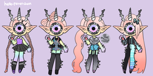 Outfit set - Sereia by hello-planet-chan