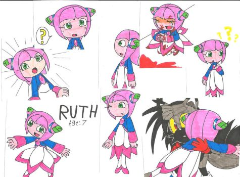 Ruth the Seedrian Collage by cmara