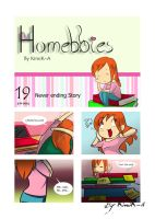 Homebbies 19 Never Ending Story by KimiK-A
