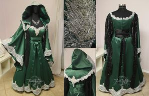 Royal Slytherin Gown by Firefly-Path
