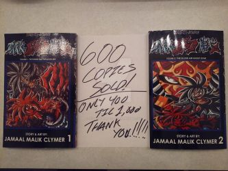D13'S Dark-Blood sold 600 COPIES! THANK YOU! by d13mon-studios