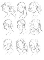 Hair Ref Set by M00NBRUSH