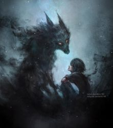 so she became a wolf for him by NanFe