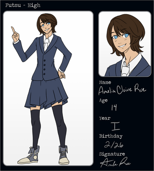 [F-H] Amelia Claire Rue App by Versaill