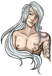 Caiden Bust Commission by emme