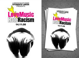 Love Music Hate Racism by illiteratekniferack