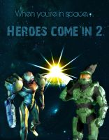 Heroes Come In 2 by Gemini-Hypernova