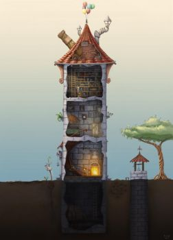 Wizard Tower by Samize