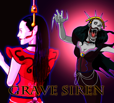 Grave Siren (New) by AntagonistDC