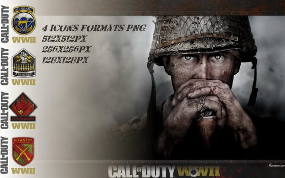 Icons Patchs Call of Duty WW2 by favorisxp