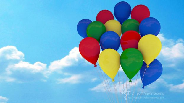 Balloons by C-Williams