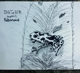 Inktober - Poisonous by seafang13