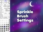 sprinkle brush (added fixes) by ennusi