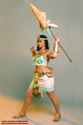 Pharaoh Nidalee cosplay preview by AHu-PL