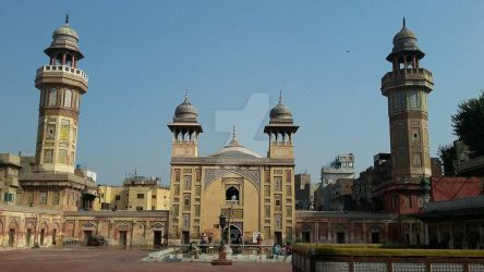 wazir khan mosque by Naima-amjad