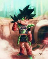 Kid bardock-deploy by Mark-Clark-II