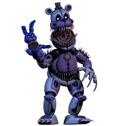 Twisted Funtime Freddy (commission) by 3D-Darlin