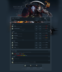 Aion Forum Asgrue by Sanjo-Design