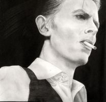 David Bowie by xMalfoy97