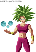 Dragon Ball Super Kefla Full Power by MattColoring