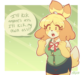 Isabelle Is Ready!! by Kaibuzetta