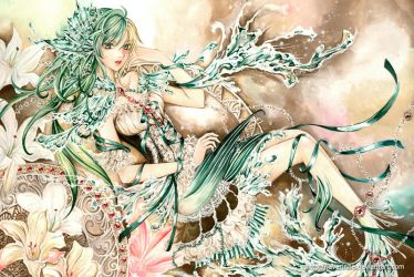 Mermaid Lily by laverinne