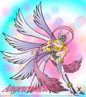 Angewomon by scificat