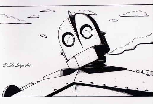 Iron Giant by Fires-storm