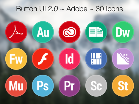 Button UI 2.0 ~ Adobe by BlackVariant