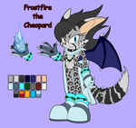 Frostfire the Cheopard [Reference] [Gift] by Natakiro