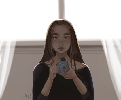 Polaroid by ArtOfAyanami
