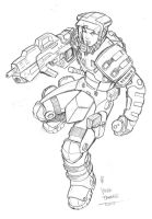 starship troopers sketch by deemonproductions