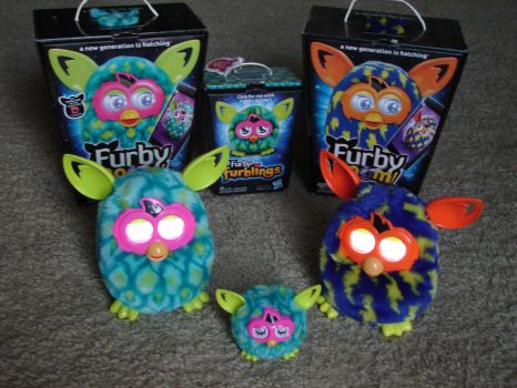 My Furby Collection: Furby Booms and Furbling by sbfan101909