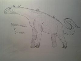 Cryptids for Documentry: Mokele mbeme by Trendorman