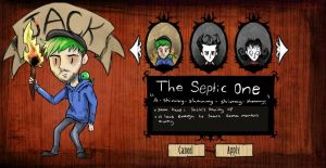 JackSepticEye Don't Starve by NoteS28