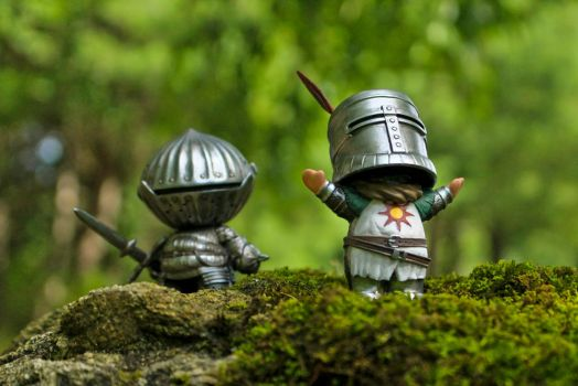 Mini Solaire and Siegmeyer by liadys