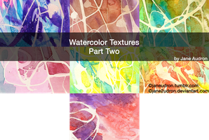 Watercolor Textutes Part Two by Jane2Audron
