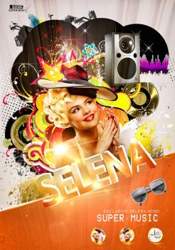 Selena Gomez  SOONG 2013 by animekol