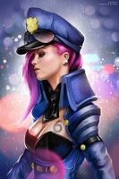 Officer Vi Portrait by ProjectVirtue