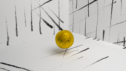 Bubbly Golden Ball by ignorance007