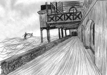 Architecture sketch #2: docks by 77tiger77