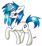 :Commission: Vinyl Scratch by ShyShyOctavia